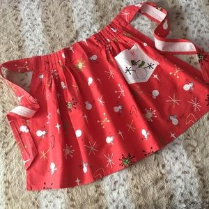 Vintage Inspired Holiday Apron ⛄️